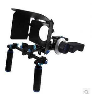 Cheap DSLR Rig Set Movie Kit withshoulder mount rig Matte Box And follow focus for sale