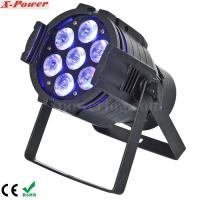 Best 5 in1 15W RGBWA 7PCS LED Par Can Stage Lights , 15 ~ 40 degree Beam Angle wholesale