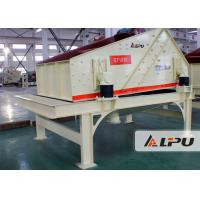 Best Vibration Frequency 1450 R/Min Sand Dewatering Screen In Sand Washing Plant wholesale