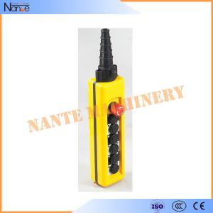 Best IP65 Push Button Crane / Hoist Pendant Control AC400V / DC230V IEC 60947-5-1 wholesale