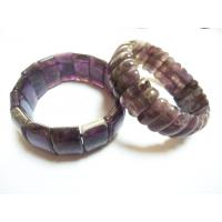 Cheap Stone Material New Arrived Couple Amethyst Bracelet For Female Semi Precious Gem for sale
