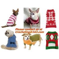 China Lovely Puppy, Pet, Cat, Dog, Striped Sweater, Knitted Coat, Apparel, Clothes for Christmas on sale
