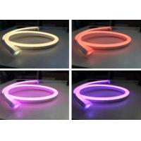 Best SMD5050 12V RGB Neon Lights, 14 X 26mm Size Outdoor RGB Flexible Led Neon Tube wholesale