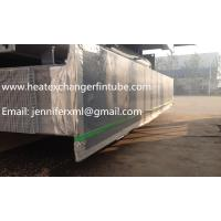 Best Carbon Steel Base Tube Material Single Row Flat Fin Tube Hot Dip Galvanized wholesale