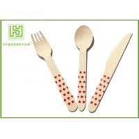 Best Premium Birch Disposable Eco Friendly Wooden Cutlery Fork Knife Spoon wholesale
