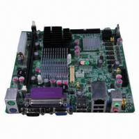 Best Industrial Control Mini-ITX Motherboard, Intel Atom N270, 6 x Com, lvds, S-video, Industral Degree wholesale