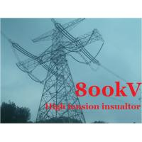 Quality Composite Suspension Transmission Tower Insulators High Tension 800 kV wholesale