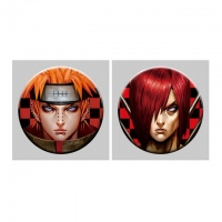 Best Flip Badge One Piece 3D Lenticular Pin With Luffy Zoro Anime wholesale