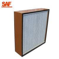 Best Deap Pleated Cleanroom Hepa Filter With Paper Or Aluminum Foil Separater wholesale