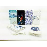 Best Li-Polymer Mobile Phone 5000mah Portable USB Power Bank For IPhone5 / 5S wholesale
