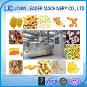 Puffed snack food processing machine corn puff extruder corn snacks