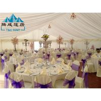 Cheap 20m Width Fire Retardant A Shaped White Wedding Event Tents / Outdoor Wedding for sale