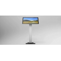 Buy cheap 18inch 21.5inch Free Standing Touch Screen Kiosk 400CD/M from wholesalers
