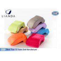 Best Velvet cover Memory Foam Pillows Customized LOGO for Office Nap , ROHS TUV certificate wholesale