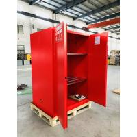 Best Red Flammable Combustible Storage Cabinets Two Vents Single Door 45 gallon wholesale