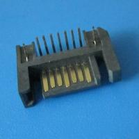 Best right angle 7pin male header Serial ATA / ESATA / SATA connector wholesale