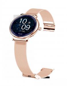 "Best Ladies Round Screen 1.08"" Blood Pressure Heart Rate Smart Watch wholesale"