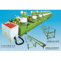 Best 13*25-95*45mm 32 Head Square Pipe Polishing Machine Installation 3-30m/min wholesale