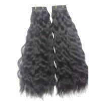 Buy cheap Custom Natural Wave Ear To Ear Frontal For Girl Black Color 28 Inch from wholesalers