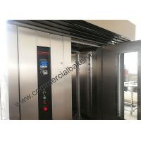 Best High Efficient Rotating Bread Oven , Diesel Power Hot Air Rotary Oven wholesale