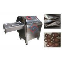 China Automatic Fish Processing Equipment , Frozen Fish Slicing Machine High Efficiency on sale