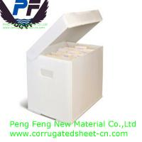 Best 2-6 mm white/black/blue/green/yellow color polypropylene foldable plastic coroplast boxes for packing industry wholesale