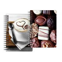 Cheap Stationery Diary A4 Size Notebooks 3D Lenticular Cover Of Famous Views for sale