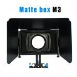 Best Matte box for 15MM rail rod support follow focus 550D 60D 600D 5D2 dslr camera wholesale
