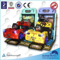 "China 2014 hot sell 47""LCD full-motion simulator arcade racing car game machine on sale"