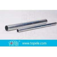 China 1-inEMT Conduit And Fittings Pre-Galvanized Metal Pipe , Electrical cable conduit on sale