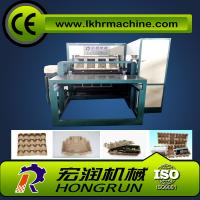Best Egg Tray Production Line , Rotary Type Pulp Molding Machine 6000PCS/H egg carton forming machine wholesale
