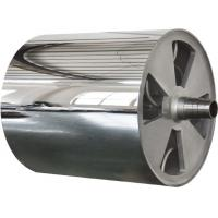 Best Corrosion Resistance Finished Mirror Roller For The Surface Embossing In PVC , PE , PC wholesale