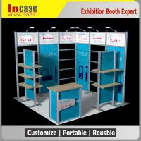 3x3 Exhibition Stand : Details of portable trade show exhibition booth shell