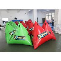 Best Green Inflatable Marker Buoy / Inflatable Floating Water Park 3 Years Warranty wholesale