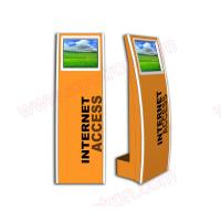 Best Cheap price High quality 17 inch touch screen floor standing internet kiosk with touch screen and wifi connection wholesale