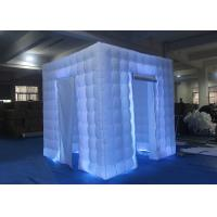 Best Flexible Inflatable Photo Booth -20 To 60 Degrees Working Temp With Curtain wholesale