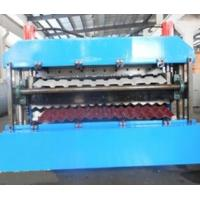 Best 18 Forming Stations Double Layer Roll Forming Machine PLC For IBR / Corrugated Sheets wholesale
