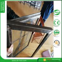 Best 2017 Latest Design Steel Security Windows Steel Fixed Grid Window wholesale