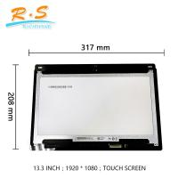 Best FHD 13.3 Inch Touch Screen LCD Display For Dell Inspiron13 5368 / 7368 wholesale