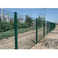 Best 50x200mm Welded Bending Mesh Fence Panels Protecting Application pvc Coated Or Galvanized wholesale