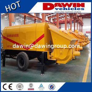 60m3 80m3/H Large Trailer Concrete Pump with Elctric or Diesel Power Manufacturer