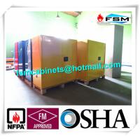 Best Venting Flammable Safety Cabinets , Chemical Storage Containers Double Doors wholesale