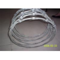 Best Stainless Steel Razor Barbed Wire Outside Diameter 450 - 960 Mm Excellent Protection wholesale