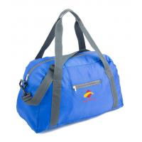 China 600D Blue Suitcase Luggage Sports Travel Bags With Two Shoulder Strap on sale