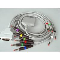 Best Fukuda Denshi EKG Machine Cable Durable DB15M - 15pin 4.7kΩ Resistance wholesale