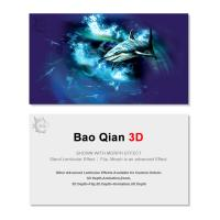Best Durable 3D Lenticular Business Card Printing Animation Effect For Promotion wholesale