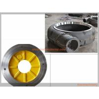 Best Anti Abrasion Electric Slurry Pump Spare Parts High Chrome Alloy / Rubber Material wholesale