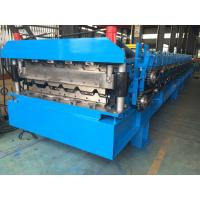 Best Roofing Profile Double Layer Roll Forming Machine Automatically 380V 50Hz 3 Phases wholesale