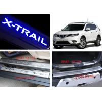 Best NISSAN X-TRAIL 2014 2017 Tail Gate and Side Door Sill Steel Scuff Plates wholesale