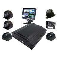 Best Black Box Kit 8 Channel Mobile DVR 4G AHD 720P Security Surveillance System wholesale